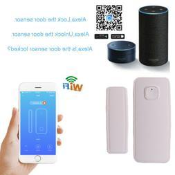Alexa Wireless Wifi Smart Home Door Window Alarm Sensor Secu