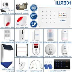 APP Control KERUI G18 GSM SMS Wireless Home Security Alarm S