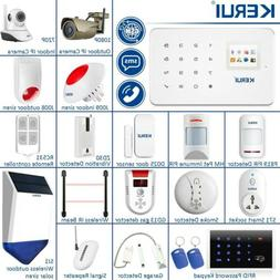 APP Control KERUI G18 Wireless GSM Home Security Alarm Syste