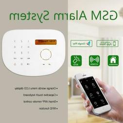APP control RFID GSM Smart house security alarm system wirel