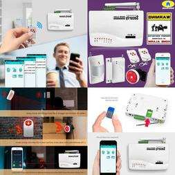 App Control Wireless Gsm Alarm System Dual Antenna Alarm Sys