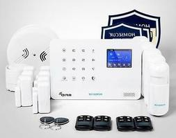 Autodial Home Alarm System Smoke Detector