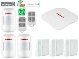 X80 KERUI W1 IP WiFi Cloud PSTN Wireless Kits Home Security