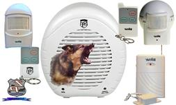 Barking Dog Alarm System Safety Technology Bundle W/ Include