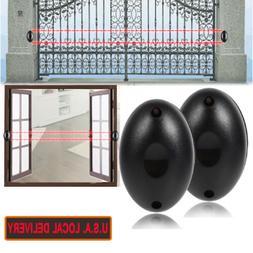 Beam Alarm Photoelectric Infrared IR Sensor Detector Home Se