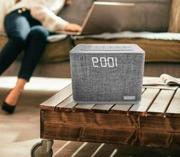 bluetooth dual alarm clock fm radio