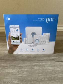 Brand New Ring Wireless Alarm 5-Piece Home Security Kit Whit