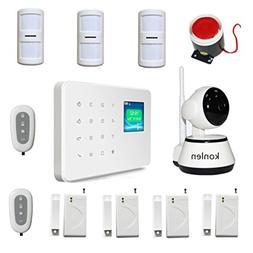 KONLEN Burglar House GSM Alarm With Camera IP Wifi P2P Night