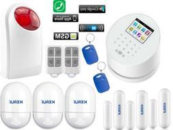 C79 KERUI APP WiFi IP GSM PSTN RFID Access Wireless Home Sec