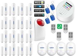 Z58 KERUI APP WiFi GPRS IP GSM PSTN RFID Wireless Home Secur