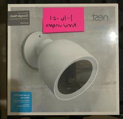 NEST Cam IQ Outdoor Smart Security Camera Model NC4100US - N