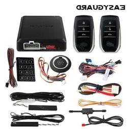 EASYGUARD car alarm and remote start keyless entry system rf