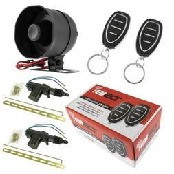 Car Alarm Security System Shock Sensor, Keyless Entry 2 Door