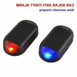 Car Fake Solar Alarm LED Light Security System Warning Anti