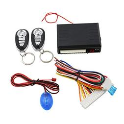 uxcell Car Remote Central Kit Door Lock Locking Keyless Entr