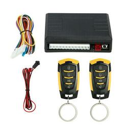 Car Remote Central Kit Door Lock Keyless Entry System Auto A