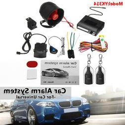 1-Way Car Vehicle Protection Alarm Security System Keyless E