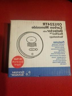 Carbon Monoxide Alarm,12/24 VDC, 4-Wire SYSTEM SENSOR CO1224