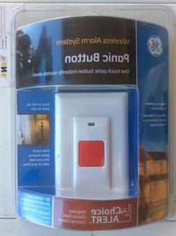 GE Choice Alert Wireless Alarm System Panic Button 45145 New