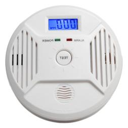 Combination Carbon Monoxide Smoke Alarm Home Security System
