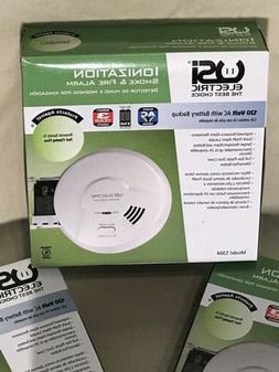 Cordless Fire Smoke Sensor Detector Alarm Home Security Syst