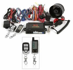 Crimestopper SP-502 2-Way LCD Paging Combo Alarm, Keyless En