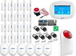 D75 KERUI WIFI APP GSM Wireless Home Security Alarm Burglar