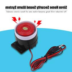 DC 12V Loud Wired Mini Indoor Accessory Horn Siren Sound Hom