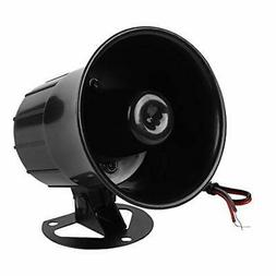 DC 12V Wired Alarm Loud Horn Siren for Home Security Protect