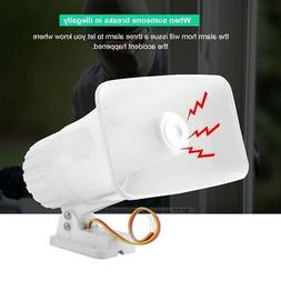 DC 12V Wired Loud Alarm Siren Horn Outdoor 150dB For Securit