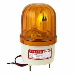 DC 24V 10W Yellow Rotating Industrial Signal Warning Light L