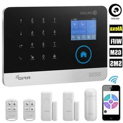 Digoo DG-HOSA WIFI APP GSM SMS Wireless Smart Burglar Alarm