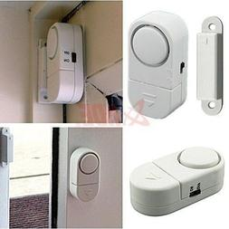 HDE DIY 4 Piece Wireless Personal Security Alarm System Kit