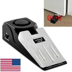 Door Stop Alarm Home Travel Wireless Security System Portabl
