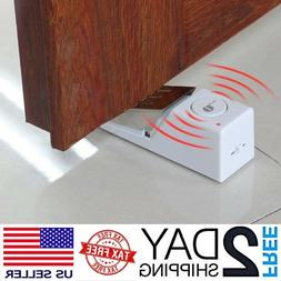 door stop alarm home travel wireless security