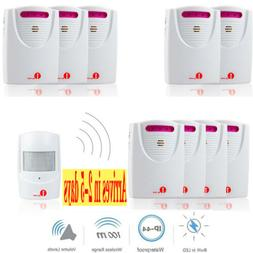 1byone Driveway Alarm System Car Detector Infrared Motion Se