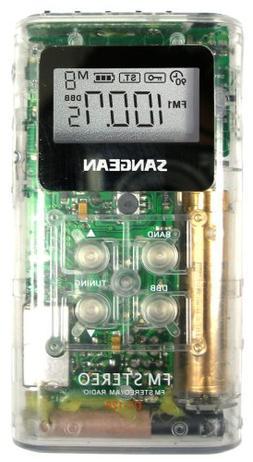 Sangean DT-120CL A/M/FM Pocket Receiver