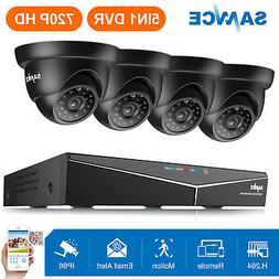 SANNCE HD 1080P HDMI 8CH DVR 1500TVL TVI Outdoor IR Home Sec