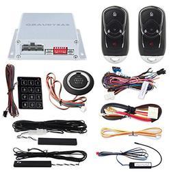 EASYGUARD EC002-bu Intelligent RFID PKE Car Security Alarm S