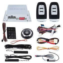 EASYGUARD EC002-p2 Smart Key RFID PKE Car Alarm System Auto