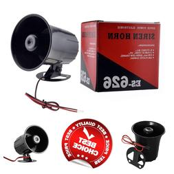 Electronic Alarm Siren Horn Outdoor for Home Security Protec