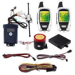 EASYGUARD EM209 2 Way Motorcycle Alarm System with Remote En