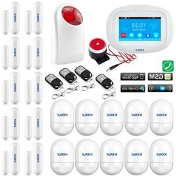 L86 KERUI WIFI APP GSM Wireless Home Security Alarm Burglar