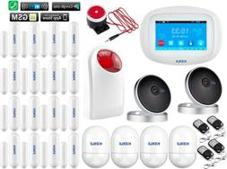 F36 KERUI WIFI APP GSM Wireless Home Security Alarm Burglar