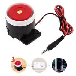 Flash Light DC 12V Alarm System Warning Signal Horn Home Sec