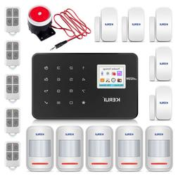 KERUI G18 2G GSM IOS/Android APP Control Wireless Security A