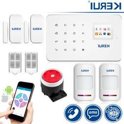 KERUI G18 433MHz 2G/4G GSM Wireless Smart Home Burglar Secur