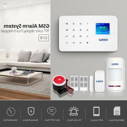 KERUI G18 DIY GSM Home Office Store Burglar Security Alarm S