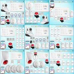 Kerui G18 GSM SMS Home Security Auto Alarm System PIR Detect