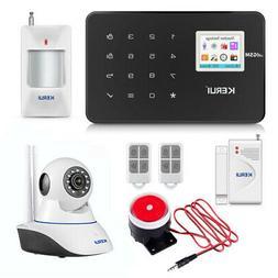 KERUI G18 GSM Wireless Home Burglar Alarm Security System wi